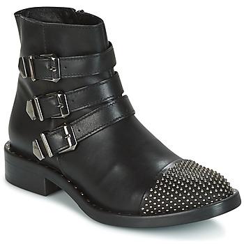 Schoenen Dames Laarzen Meline PESCINO Zwart