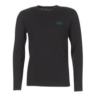 Textiel Heren T-shirts met lange mouwen Oxbow TEITH Zwart