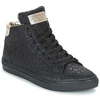 Schoenen Dames Hoge sneakers Replay HALL Zwart