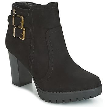 Schoenen Dames Enkellaarzen Refresh CALI Zwart