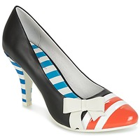 Schoenen Dames pumps Lola Ramona STILETTO Zwart / Oranje / Wit