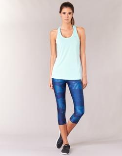 Textiel Dames Leggings Under Armour UA HG ARMOUR GRAPHIC CAPRI Blauw