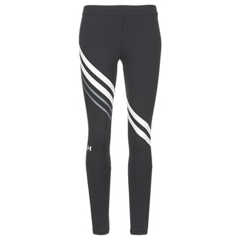 Textiel Dames Leggings Under Armour FAVORITE LEGGING ENGINEERED Zwart / Wit