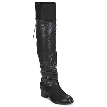 Schoenen Dames Lieslaarzen Mjus SHAGGY Zwart