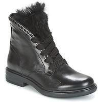 Schoenen Dames Laarzen Mjus CAFE LACE Zwart