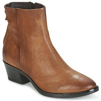 Schoenen Dames Laarzen Mjus FRESNO ZIP Bruin