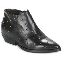 Schoenen Dames Low boots Mjus CHRISSIE STUD Zwart