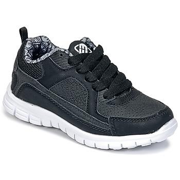Schoenen Jongens Lage sneakers Freegun FG VINO Zwart