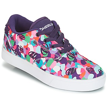 Schoenen Meisjes Schoenen met wieltjes Heelys LAUNCH Violet / Multicolour