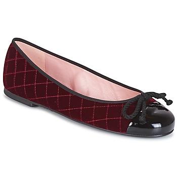 Schoenen Dames Enkellaarzen Pretty Ballerinas  Bordeau