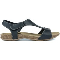 Schoenen Dames Sandalen / Open schoenen Interbios TUSSENTIJDS ANATOMISCHE SANDALEN 4420 BLACK