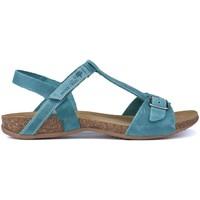 Schoenen Dames Sandalen / Open schoenen Interbios SANDALEN AFRODITE 4462 JEANS