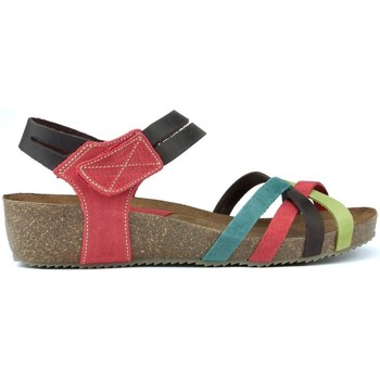 Schoenen Dames Sandalen / Open schoenen Interbios S  HAPPY COLOURS MULTICOLOR