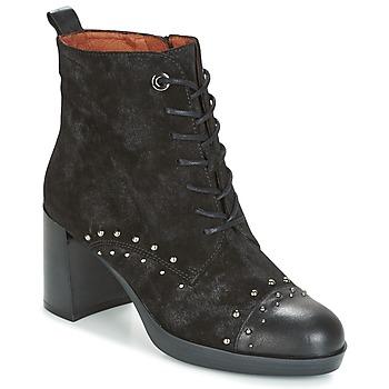 Schoenen Dames Enkellaarzen Hispanitas DREW 17 Zwart
