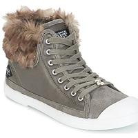 Schoenen Dames Hoge sneakers Le Temps des Cerises BASIC 03 Grijs
