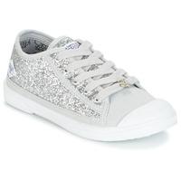 Schoenen Meisjes Lage sneakers Le Temps des Cerises BROOK Zilver