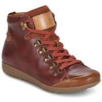 Schoenen Dames Hoge sneakers Pikolinos LISBOA W67 Bruin