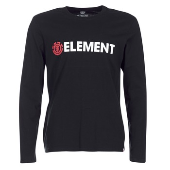 Textiel Heren T-shirts met lange mouwen Element BLAZIN LS Zwart