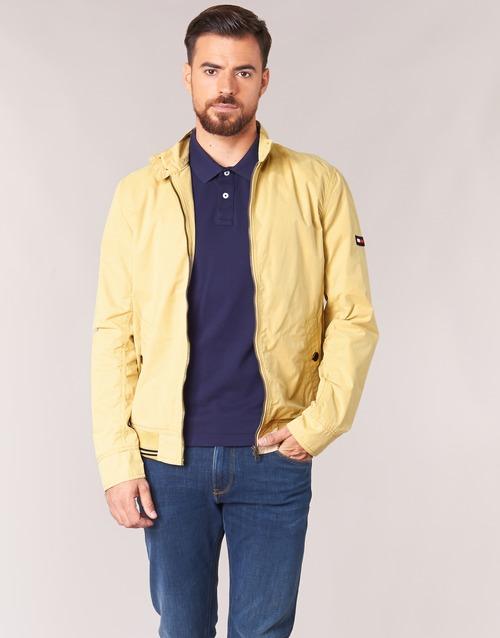 Textiel Heren Wind jackets Tommy Jeans THDM BASIC HARRINGTON Beige