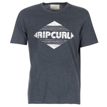 Textiel Heren T-shirts korte mouwen Rip Curl BIG MAMA DIAMOND Zwart