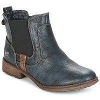 Schoenen Dames Laarzen Mustang NANI Marine