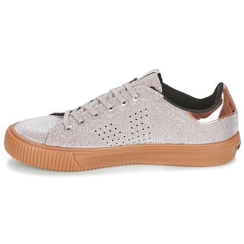 Victoria DEPORTIVO LUREX Grijs - Gratis levering  Schoenen Lage sneakers Dames