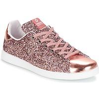 Schoenen Dames Lage sneakers Victoria DEPORTIVO BASKET GLITTER Roze