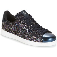Schoenen Dames Lage sneakers Victoria DEPORTIVO BASKET GLITTER Marine