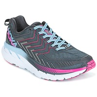 Schoenen Dames Running / trail Hoka one one CLIFTON 4 Grijs