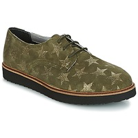 Schoenen Dames Derby Ippon Vintage JAMES SKY Kaki