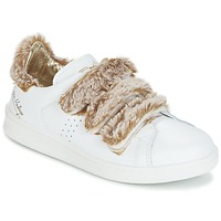 Schoenen Dames Lage sneakers Ippon Vintage FLIGHT POLAR Wit / Koper