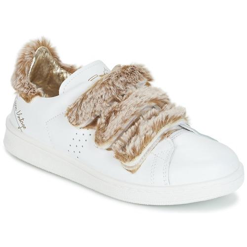 Schoenen Dames Lage sneakers Ippon Vintage FLIGHT POLAR Wit / Koper