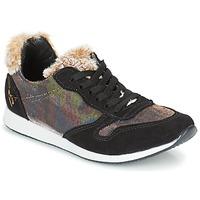 Schoenen Dames Lage sneakers Ippon Vintage RUN SNOW Zwart / Koper