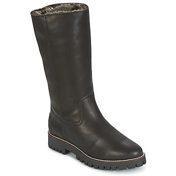 Schoenen Dames Hoge laarzen Panama Jack TANIA Zwart