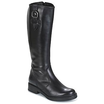 Schoenen Dames Hoge laarzen Samoa 53245-NERO Zwart