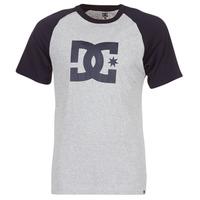 Textiel Heren T-shirts korte mouwen DC Shoes STAR RAGLAN SS Zwart / Grijs