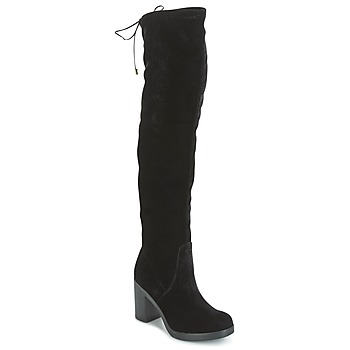 Schoenen Dames Lieslaarzen Tosca Blu ST MORITZ Zwart