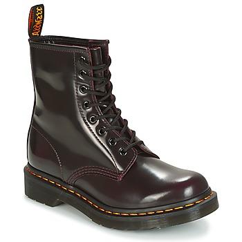 Schoenen Dames Laarzen Dr Martens 1460 Rood / Cherry