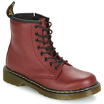 Schoenen Kinderen Laarzen Dr Martens DELANEY Rood / Cherry