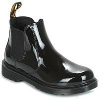 Schoenen Kinderen Laarzen Dr Martens BANZAI Zwart