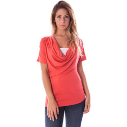 Textiel Dames Tops / Blousjes Nancy N. A28017 red R1
