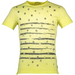Textiel Heren T-shirts korte mouwen Yes Zee T743/TB00 yellow 0322