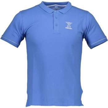 Textiel Heren Polo's korte mouwen Avx Avirex Dept AVBWPO01FIRE Polo shirt short sleeves Men light blue 20-ZULU light blue 20-ZULU