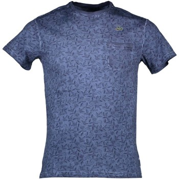 Textiel Heren T-shirts korte mouwen Yes Zee T721/TH00 blue 0713