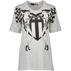 Textiel Heren T-shirts korte mouwen Love Moschino W 4 F15 03 M 3519 T-shirt Short sleeves Women grey B266 grey B266