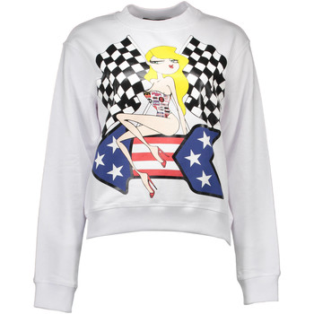 Textiel Dames Sweaters / Sweatshirts Love Moschino W 6 275 01 M 3478 Sweatshirt  with no zip Women white A00 white A00