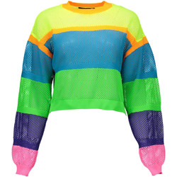 Textiel Dames Sweaters / Sweatshirts Love Moschino W S 5G5 00 X 0915 Sweater  Women multicolor 4129 multicolor 4129