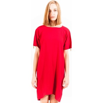 Textiel Dames Korte jurken Love Moschino W V C43 00 S 1688 Short dress Women red O78 red O78