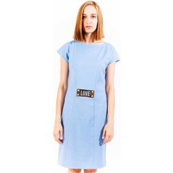 Textiel Dames Korte jurken Love Moschino W V D48 80 S 2567 light blue X78