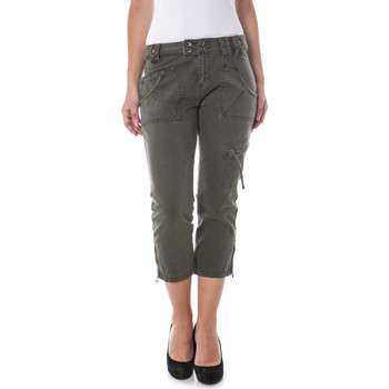 Korte Broek De Puta Madre  05AIO4628 Capri trousers Women green 1380